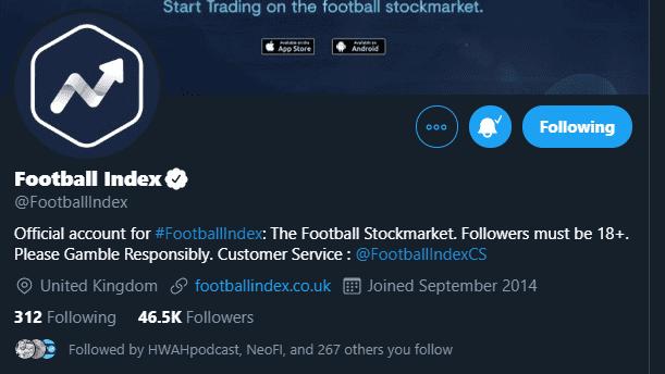 Football Index Verified Twitter