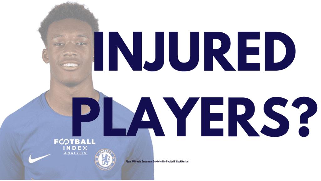 Injured Players on Football Index