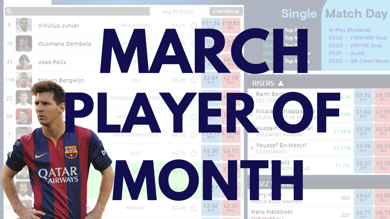 March Player of the Month