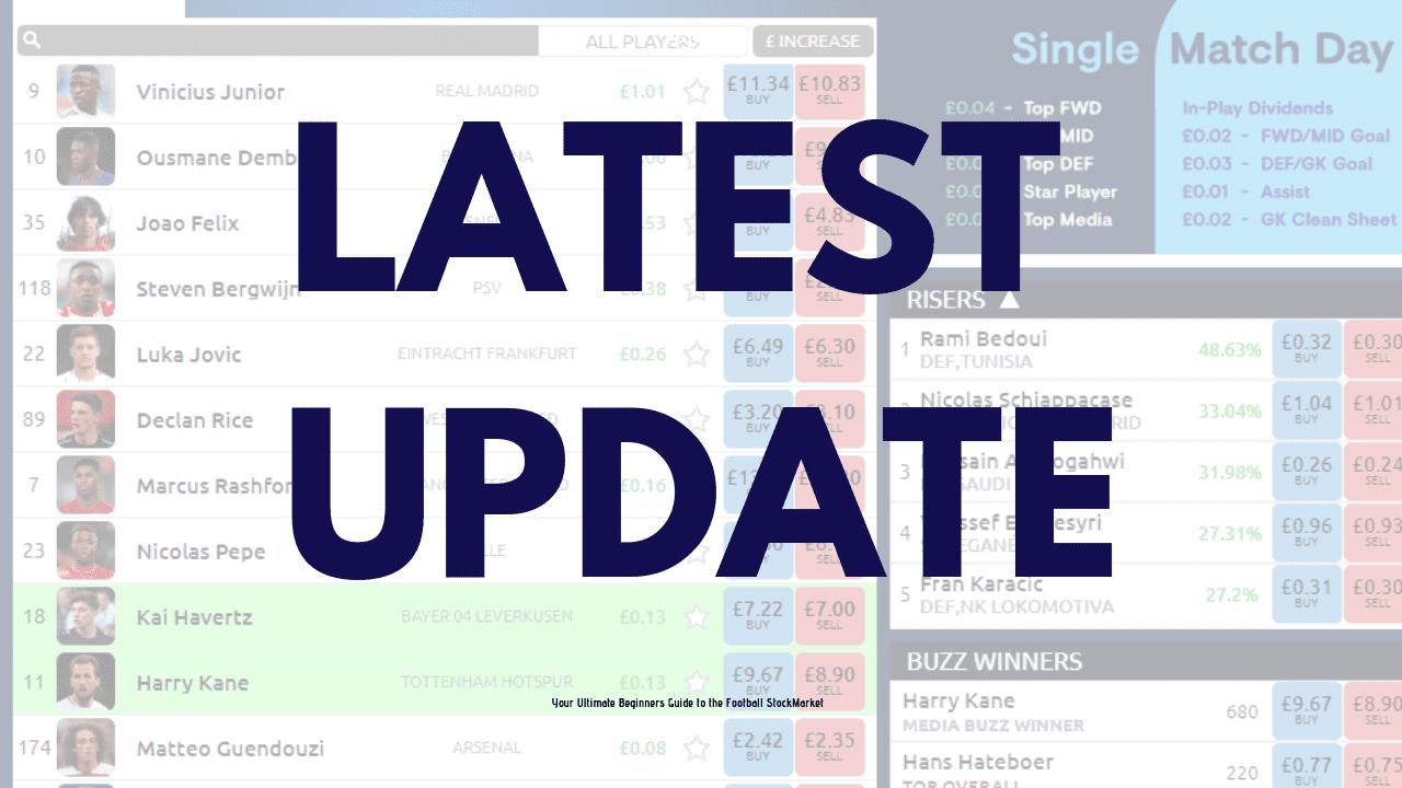 Football index share split update