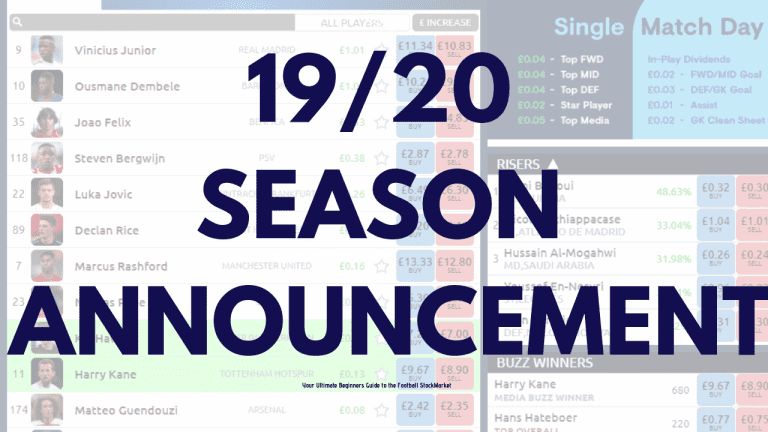 2019 Football Index Season Announcement