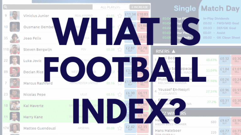 How does Football Index work