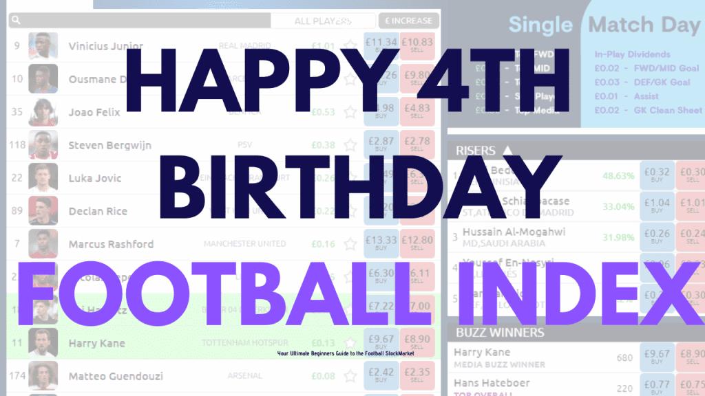Football Index Birthday Deposit Bonus