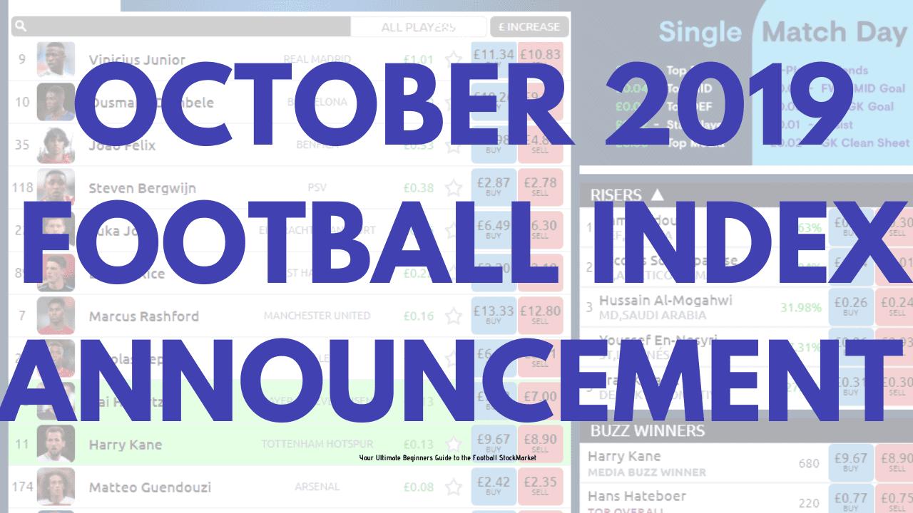 Football Index Dividend Update Announcement