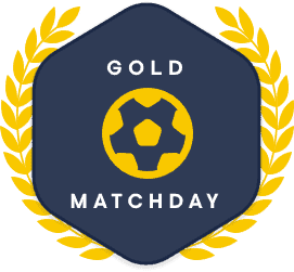 Gold Match Day Football Index