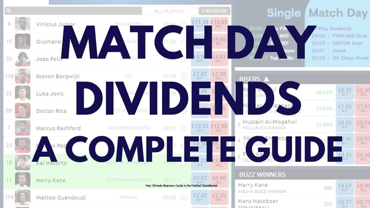 Match Day Dividends Guide