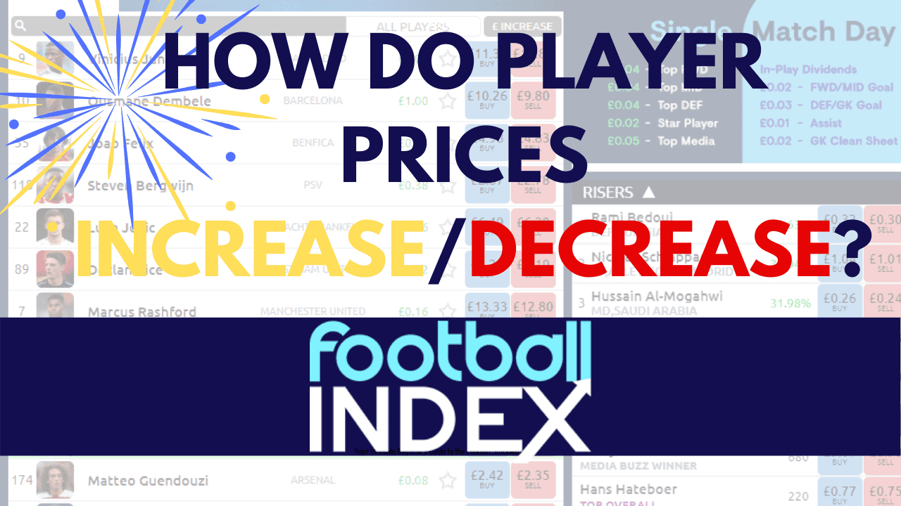 Why do Player Prices change on football index