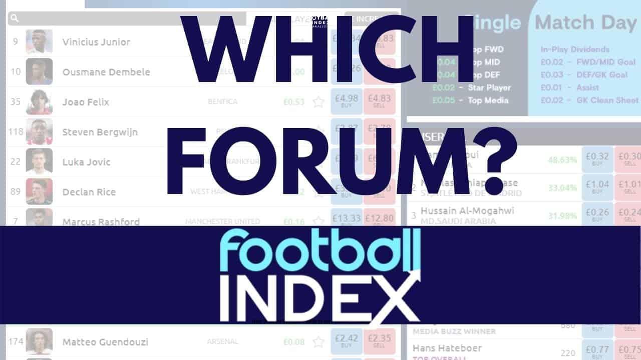 Football Index Forum Comparisons