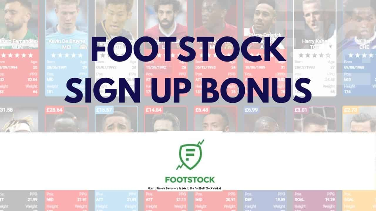 Footstock Sign up offer