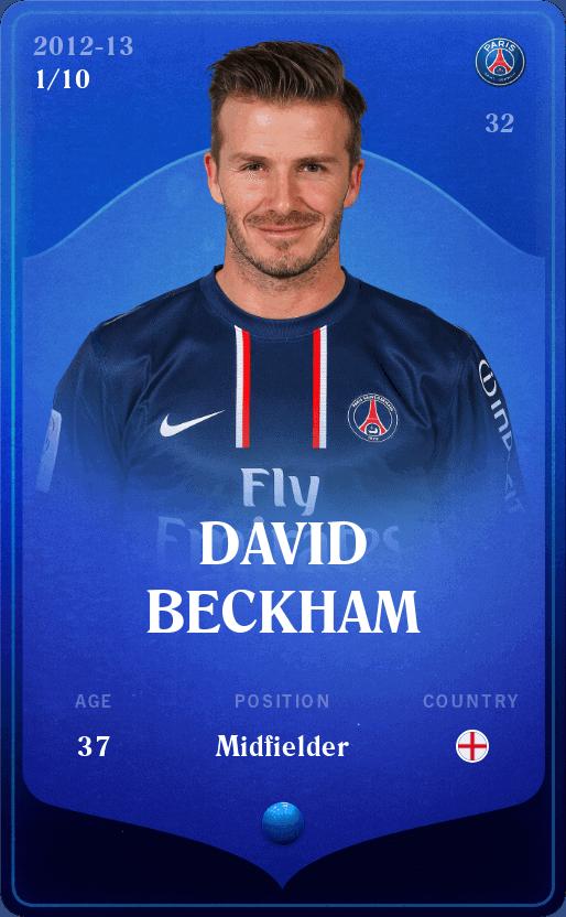 Beckham Sorare