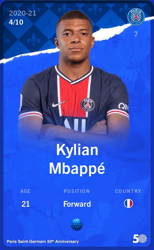 Mbappe Sorare