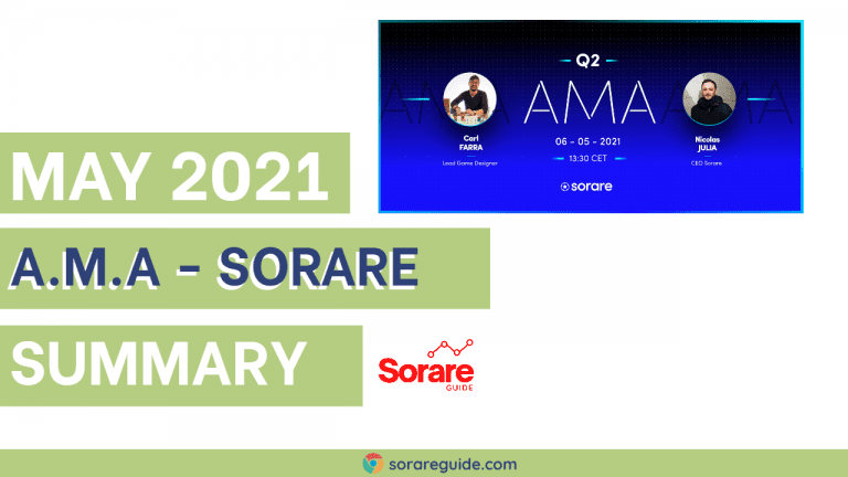 Sorare Ask me Anything AMA