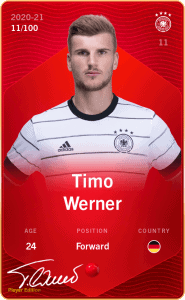 Timo Werner Sorare Germany Auto