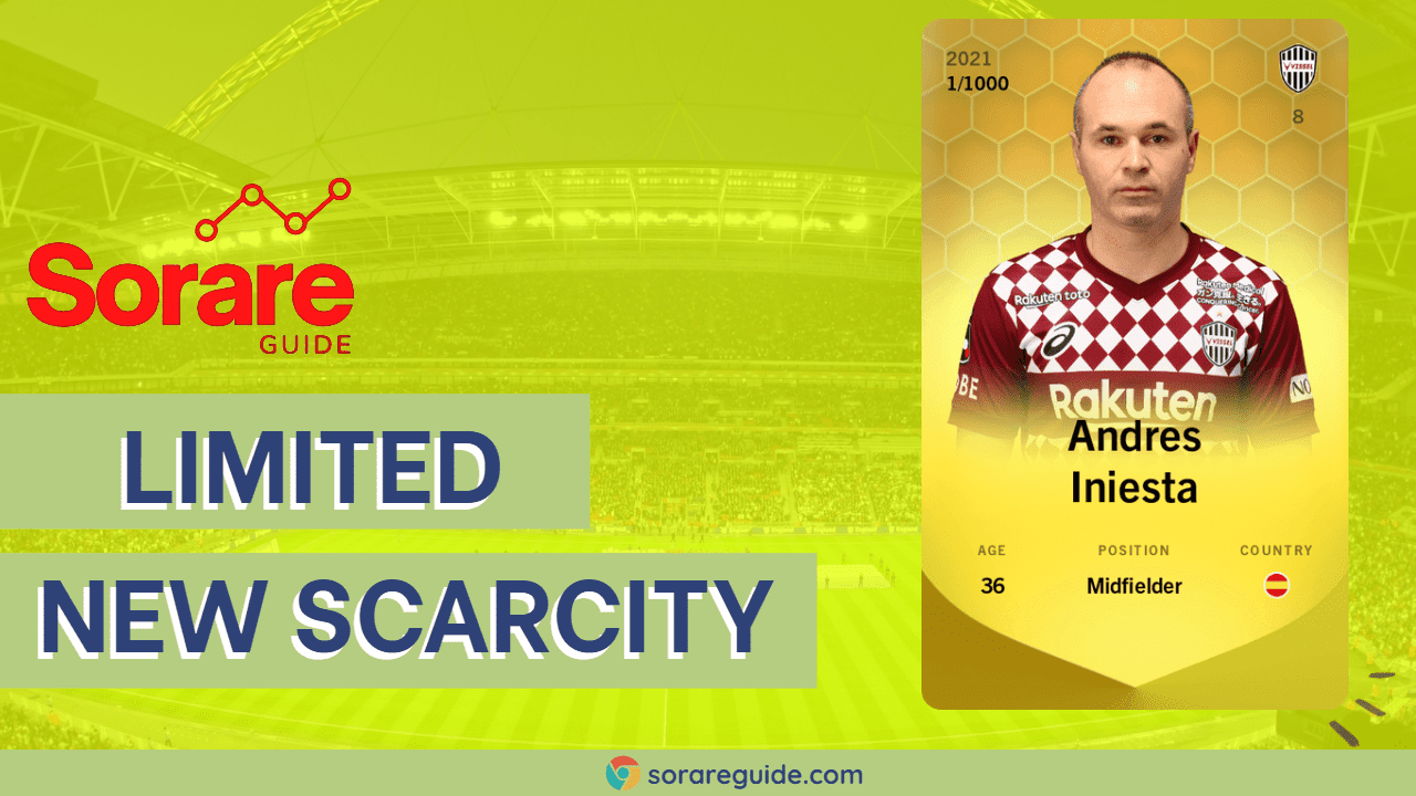Sorare Limited Scarcity